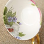 Classy British Royal Bone China Coffee Cup Ceramic Porcelain Tea Cup Saucer Spoon 4