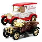 Top Collection Royal Classical Vintage Car Model Sound Light Alloy Metal Diecasts Toy Vehicles 2