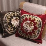 European Royal Floral Cushion Cover Top Quality Embroidered Luxury Pillow Covers 1