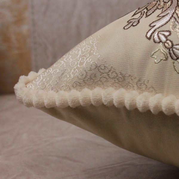 Decorative Luxury Pillow Cushion Covers 45x45cm Vintage Home Sofa European Royal Floral 4