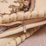 European Royal Floral Cushion Cover Top Quality Embroidered Luxury Pillow Covers 5