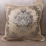 Decorative Luxury Pillow Cushion Covers 45x45cm Vintage Home Sofa European Royal Floral 2