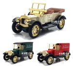 Top Collection Royal Classical Vintage Car Model Sound Light Alloy Metal Diecasts Toy Vehicles