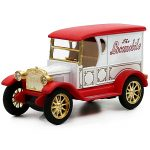 Top Collection Royal Classical Vintage Car Model Sound Light Alloy Metal Diecasts Toy Vehicles 3