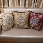Decorative Luxury Pillow Cushion Covers 45x45cm Vintage Home Sofa European Royal Floral